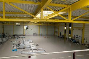 BG Elektrobau Leipzig - Referenz - Belichtung Lagerhalle 03